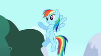 "Rainbow Dash ""a great guest party pony"" S4E12"