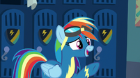 Rainbow Dash -it's that one where- S8E5
