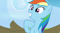 Rainbow Dash being egotistical S7E7