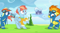 Rainbow pulls Windy Whistles away from Spitfire S7E7