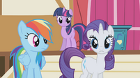 "Rarity ""dirty?"" S1E04"