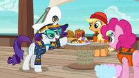 "Rarity ""unfit for a luxury cruise"" S6E22"