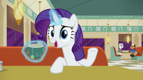 Rarity --Okay, all the time-- S6E9