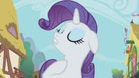 Rarity looking snobby S1E3