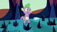 Spike near Crystal Heart S3E2