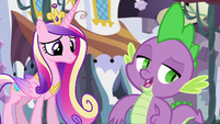 Spike telling Cadance not to worry S5E10