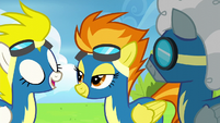 Spitfire talking with Surprise and Silver Zoom S6E7