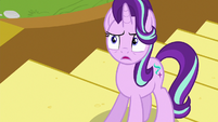 Starlight Glimmer shocked by Spike's behavior S6E25