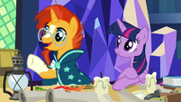 "Sunburst ""it's an Olde Ponish saying"" S7E24"