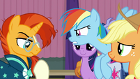 Sunburst vs. Rainbow Dash S9E16