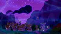 Tantabus drifting in the sky S5E13