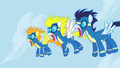 The Wonderbolts in shock S01E03.png