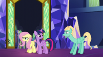 Zephyr Breeze whining to Fluttershy S6E11