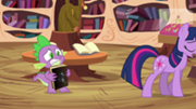 180px-Spike holding Star Swirl's book S03E13