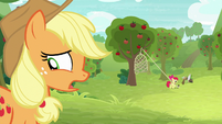 "Applejack ""I guess there's no harm"" S9E10"