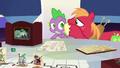 Big Mac whispering to Spike again S6E17.png