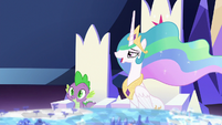 """Celestia """"you have an overachieving student"""" S7E1"""