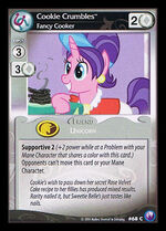 Cookie Crumbles, Fancy Cooker card MLP CCG