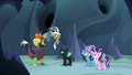 "Discord Changeling ""I heard some of the changelings"" S6E26.png"