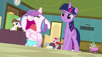 Flurry Heart starts crying S7E3