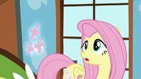 Fluttershy's cutie mark floating away S5E23