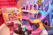 Friendship Rainbow Kingdom playset and packaging Toy Fair 2014