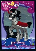 King Sombra trading card