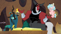 "Lord Tirek ""we can all be part of the spell"" S9E24"