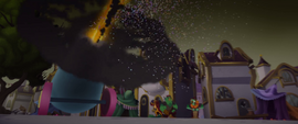 Party cannon firing at the sky MLPTM