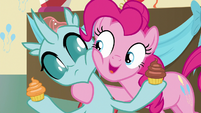 "Pinkie Pie ""you get to keep one cupcake"" S8E12"