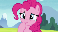 Pinkie Pie getting teary-eyed S8E3