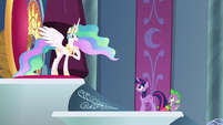 Princess Celestia -of course not!- S8E7