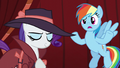 """Rainbow """"what's with the getup?"""" S5E15.png"""