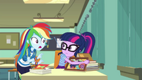 "Rainbow Dash ""summer break means"" EGDS22"
