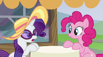 "Rarity ""not so loud..."" S6E21"