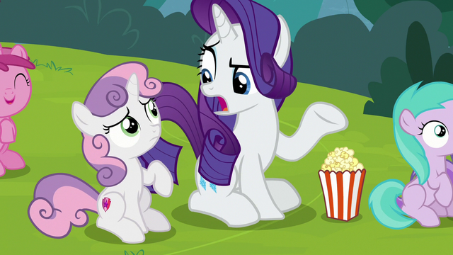 """File:Rarity """"since when?"""" S7E6.png"""