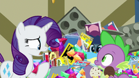 "Rarity ""why in Equestria would you refuse"" S9E19"
