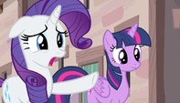 Rarity -what in the name of Equestria is that-!- S5E1
