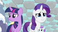 Rarity sky look fabulous S3E13