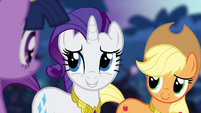 Rarity talks to Twilight S4E02