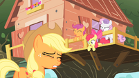 Scootaloo --Did you see us practicing--- S01E18