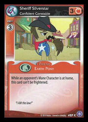 Sheriff Silverstar, Confident Constable card MLP CCG