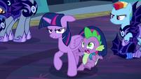 Spike shocked S5E26