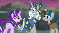 Starlight Glimmer bragging to Star Swirl S7E26