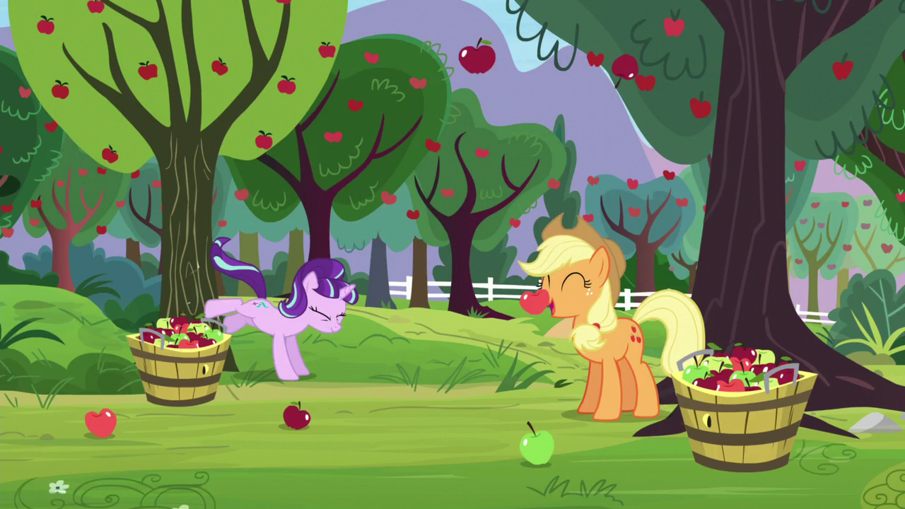 Starlight Bucks Apple Tree Apples Fall Down S5E26