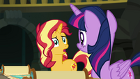 "Sunset Shimmer asking ""how?"" EGFF"