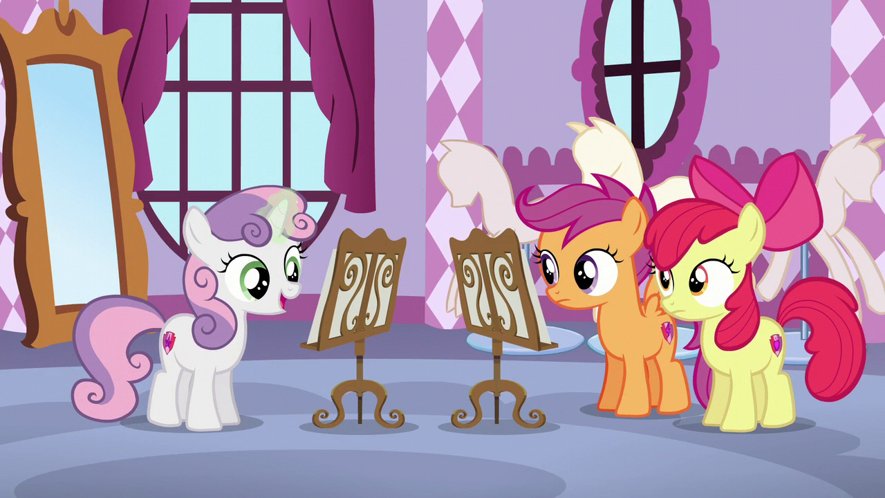 "Just Belle image - sweetie belle ""it's just a simple harmony"" s6e4 