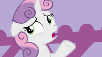 "Sweetie Belle ""finding somepony to take us"" S9E22"