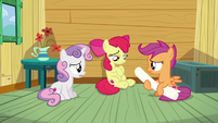 Sweetie Belle --I thought we could help anypony-- S6E19