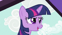 Twilight Sparkle at the door S2E03
